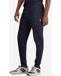 Polo Ralph Lauren Pantalon de jogging siglé - LIGNE BIG & TALL - Bleu