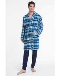 Arthur Robe de Chambre Kinley - Bleu