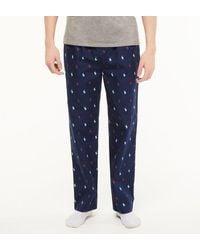 Polo Ralph Lauren Pantalon pyjama pony coton - Bleu