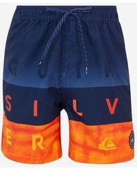 Quiksilver Short de bain de volley - Bleu