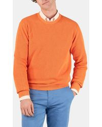 El Ganso Pull droit en coton - Orange