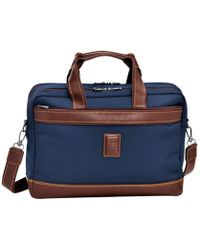 Longchamp Porte-documents Boxford - Bleu