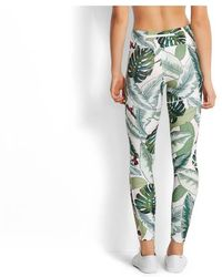 Seafolly Legging Palm Beach - Vert