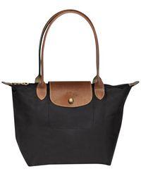 Longchamp Sac porté épaule Le Pliage - Noir