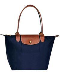 Longchamp Sac porté épaule Le Pliage - Bleu