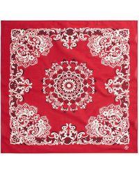 Polo Ralph Lauren Écharpe imprimée bandana - Rouge
