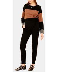 La Fee Maraboutee - Pantalon droit noir - Lyst