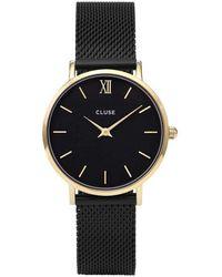 Cluse Montre Femme Minuit - Noir