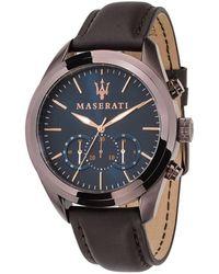 Maserati Montre Homme Traguardo - Marron