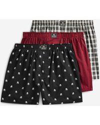 Polo Ralph Lauren Lot de 3 caleçons siglés en coton - Multicolore