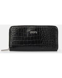 Liu Jo Compagnon Manhattan zip around - Noir