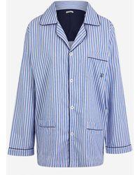 Mariner Ensemble pyjama chemise et pantalon - Bleu