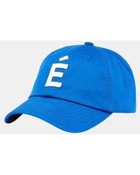 Etudes Studio Casquette Booster Patch coton - Bleu
