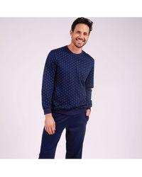 EMINENCE Pyjama jogger long homme Héritage - Bleu