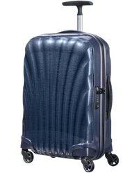 Samsonite Valise cabine rigide Cosmolite 3.0 4R 55 cm - Bleu