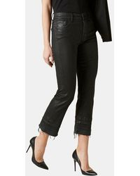 7 For All Mankind - Jean droit 7/8 - Lyst