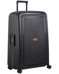 Samsonite Valise rigide Spinner S'Cure Eco 4R 75 cm - Noir