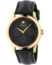 Gucci Montre Homme G-timeless - Noir