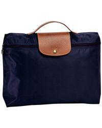 Longchamp Porte-documents Le Pliage - Bleu
