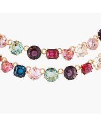Les Nereides - Collier Deux Rangs Luxe La Diamantine Multicolore - Lyst