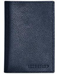 Longchamp Étui passeport Le Foulonné - Bleu