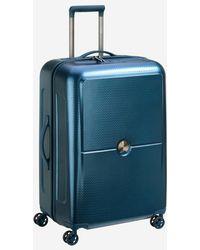 Delsey Valise rigide trolley Turenne 4R 70 cm - Bleu