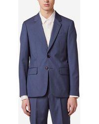 Sandro Veste de costume laine - Bleu