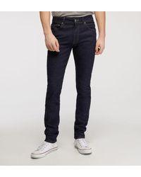 Hackett - Jean slim stretch brut - Lyst