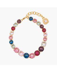 Les Nereides - Bracelet Fin Luxe Un Rang La Diamantine Multicolore - Lyst
