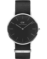 Daniel Wellington Montre Homme Black - Noir
