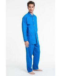 Arthur Pyjama Roi Sommeil Piste - Bleu