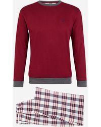 Mariner Pyjama en coton - Rouge