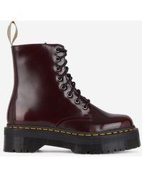 Dr. Martens - Boots plateformes Jadon II vegan - Lyst