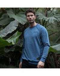 Gandys Blue Monsoon Crew Sweatshirt