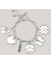 Ganni Charms Accessories Bracelet Silver One Size - Metallic