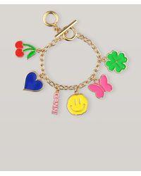 Ganni Charms Bracelet - Metallic