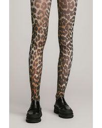 Ganni Recycled Printed Accessories Stockings - Multicolor