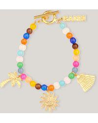 Ganni Bead Accessories Bracelet 1 Multicolour One Size