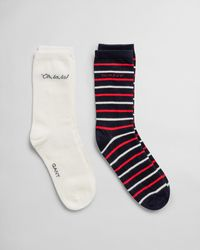 GANT Quote & Stripe Sock Gift Box - Multicolour