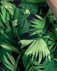 GANT Classic Fit Palm Breeze Print Swim Shorts - Green