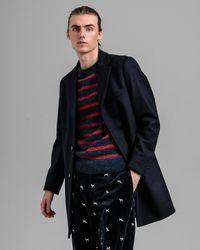 GANT Classic Wool Coat - Blue