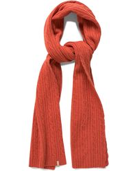 GANT - Cable Knit Scarf - Lyst
