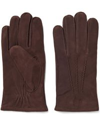 GANT Classic Suede Gloves - Brown