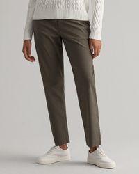 GANT Hattie Regular Fit Sunfaded Chinos - Grey