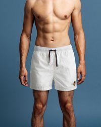 GANT Short Cut Pride Crest Swim Shorts - Multicolour