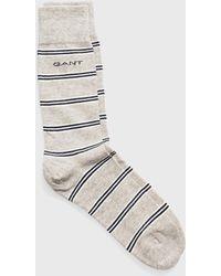 GANT - Regimental Stripe Socks - Lyst
