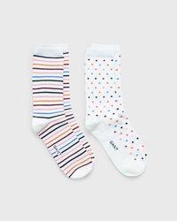 GANT Dot & Stripe Sock Gift Box - Blue