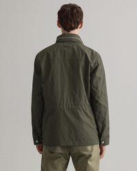 GANT Nylon 4-pocket Jacket - Green