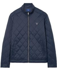 GANT - The Quilted Windcheater - Lyst