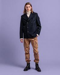 GANT Wool Pea Coat - Multicolour
